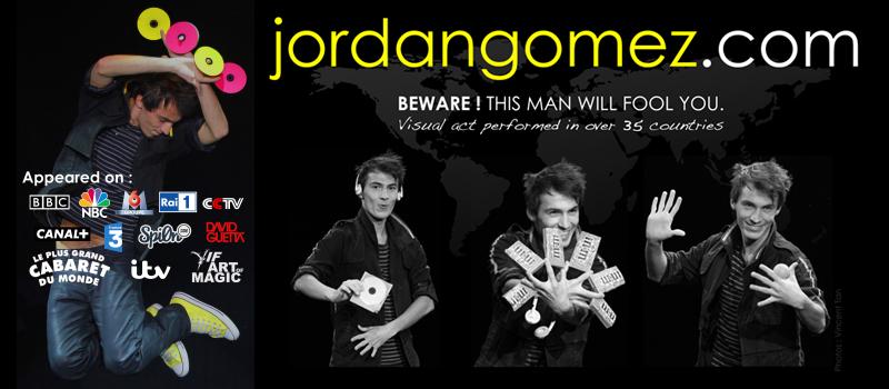 Jordan Gomez Magician
